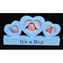 Ramka niebieska It's a Boy