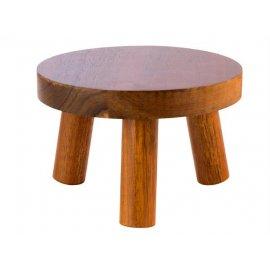 Stand bufetowy- drewno akacjowe 150x(H)100 mm