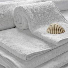 Ręcznik bawełniany hotelowy biały 50/100