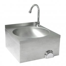 Umywalka kuchenna bezdotykowa
