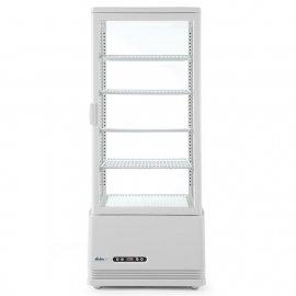 Witryna chłodnicza nastawna 98L 98L biała