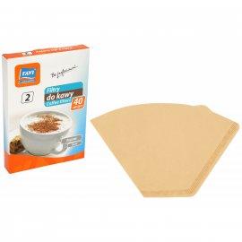 Filtry do kawy 2 40 szt. RAVI