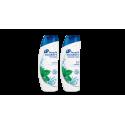 Szampon przeciwłupieżowy z odżywką head & shoulders menthol 2w1 400ml