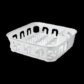 Suszarka do naczyń kwadratowa biała 39x39 Essentials CURVER