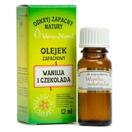 Wanilia i czekolada Olejek Zapachowy Vera-Nord
