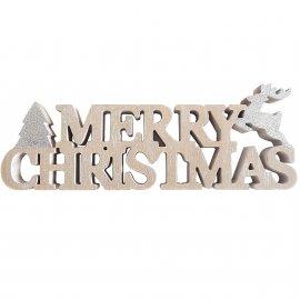 "Dekoracyjny napis ""Merry Christmas"""