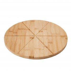 Deska bambusowa do serwowania pizzy 33 cm Tadar