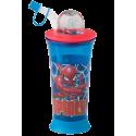 Spiderman Spidey bidon z figurką 440 ml DISNEY