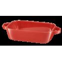 Naczynie ceramiczne Fiesta 23x13x5cm czerwone AMBITION