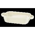 Naczynie ceramiczne Fiesta 23x13x5cm kremowe AMBITION
