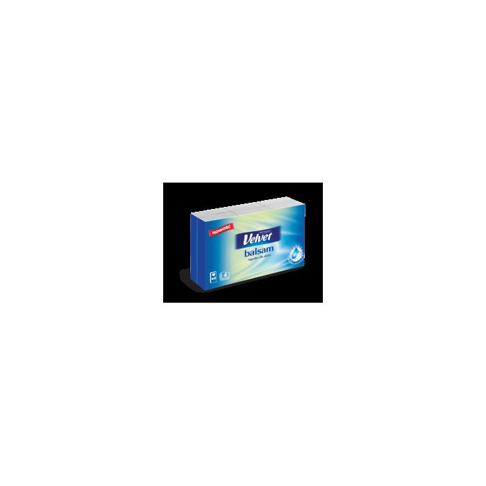 Chusteczki Velvet Balsam w pudełku