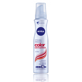 pianka styling mousse color care & protect