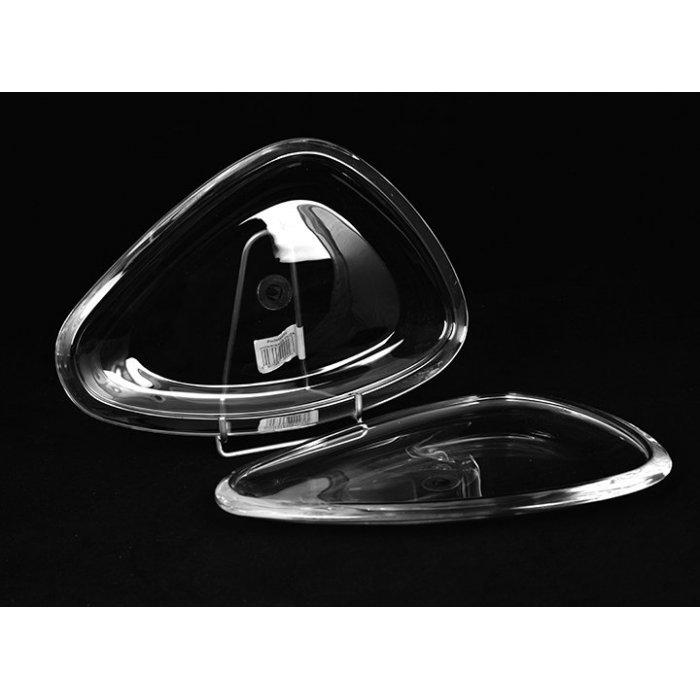 Trójdzielny półmisek 38 Glatt Walther Glas