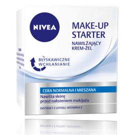 Krem-Żel make-up starter cera normalna i mieszana Nivea