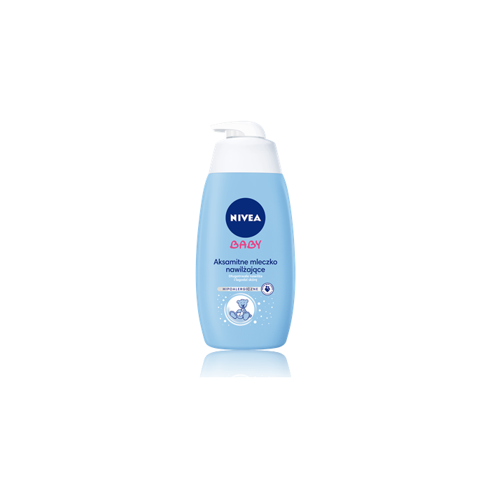 Aksamitne mleczko nawilżające Nivea Baby