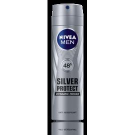 Antyperspirant Spray Silver Protect Polar Blue Nivea