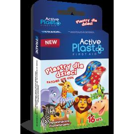 Plastry dla Dzieci Active Plast 16