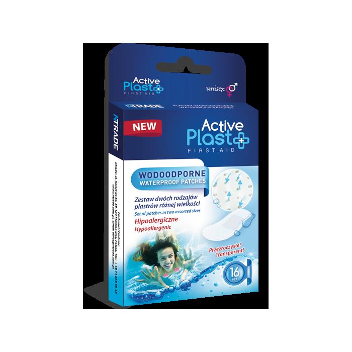 Plastry Wodoodporne Active Plast 16