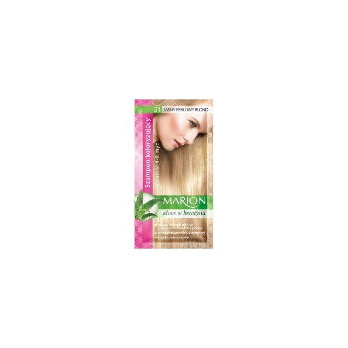 Szampon koloryzujący 51 Jasny Perłowy Blond Marion