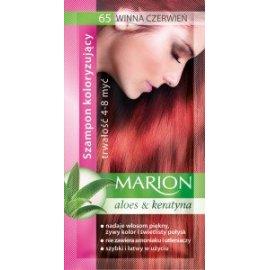 Szampon koloryzujący 65 Winna Czerwień Marion
