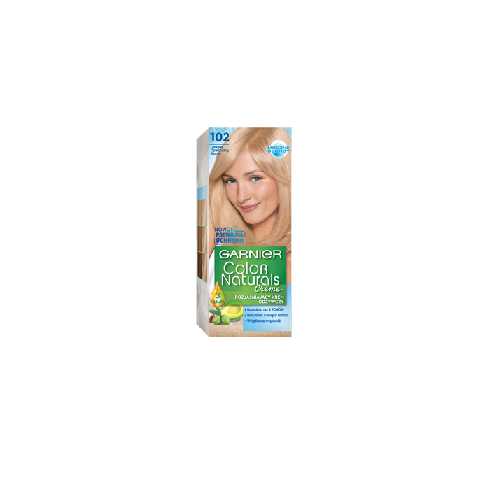 Color naturals 102 - Lodowy opalizujący blond