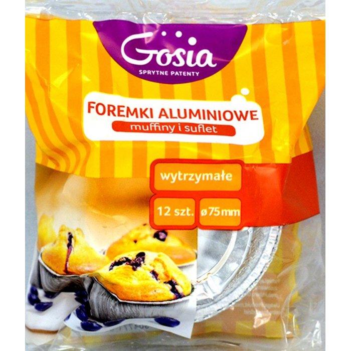 Foremki Aluminiowe Muffiny i Suflet