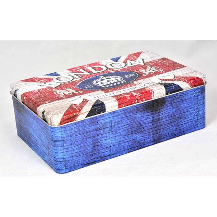 Puszka na ciastka London lub USA