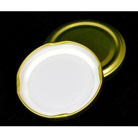 Zakrętka złota 4 zaczep fi 66 mm