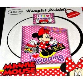 Komplet pościeli Minnie Mouse 160x200 i 70x80