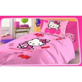 Komplet pościeli Hello Kitty 160x200 i 70x80