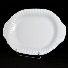 Półmisek 33 cm Biały Iwona Chodzież