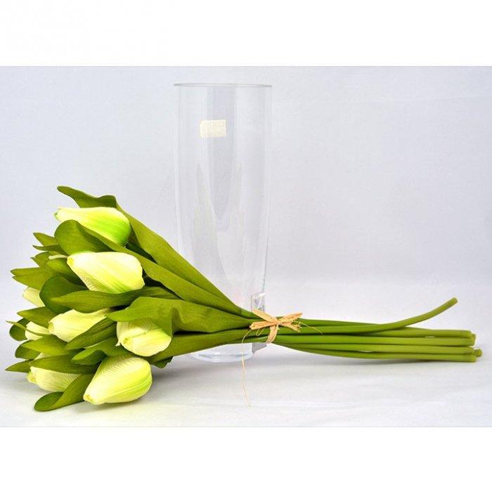 Bukiet tulipanów sztuczny kwiat dekoracja