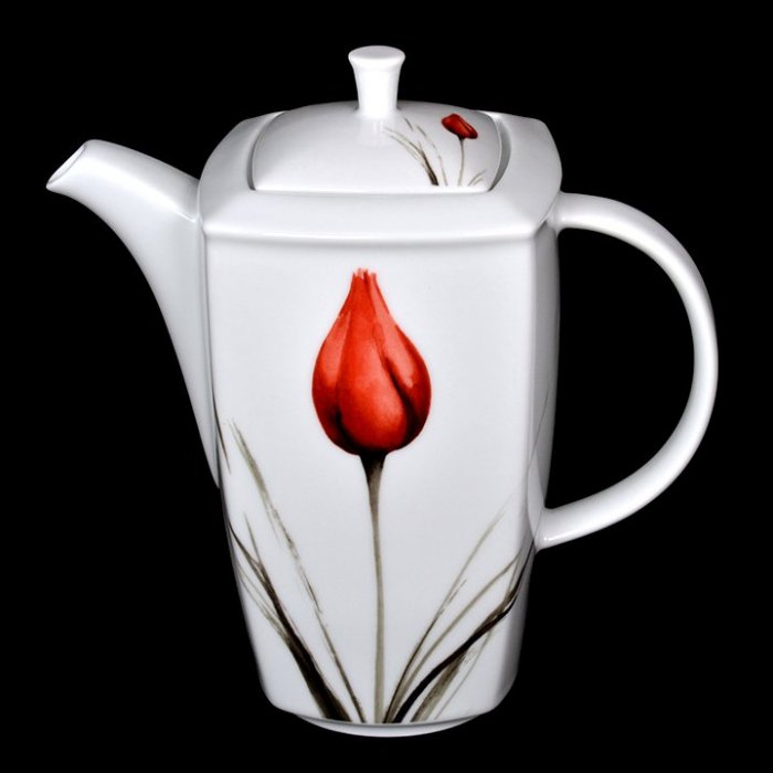 Imbryk Victoria 1,35L dek. 3830 tulipan Lubiana